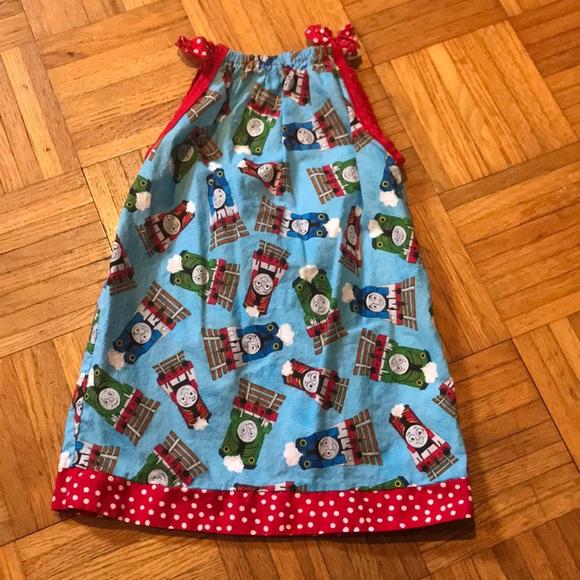 dded3162c Dresses | Toddler Girls Thomas The Train Dress | Poshmark
